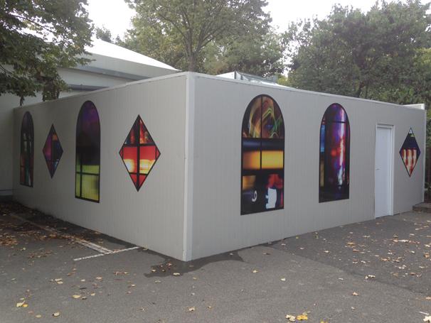 Des vitraux pour le chapiteau de l 39 universit toulouse 1 - Residence les jardins de l universite toulouse ...