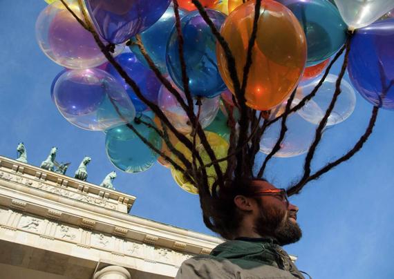 Julien Escafit - Projet Ballons