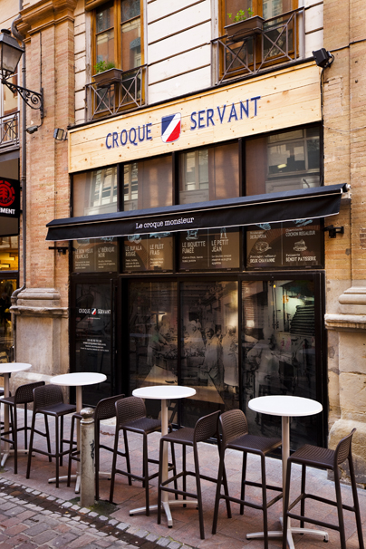 Le Croque Servant - Toulouse