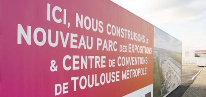 Le PEX: Futur Parc des Expos de Toulouse Métropole
